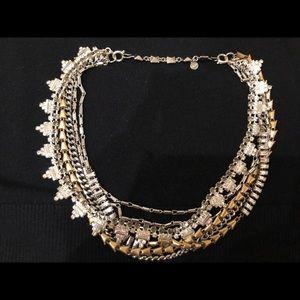 Stella & Dot Sutton necklace mixed metal